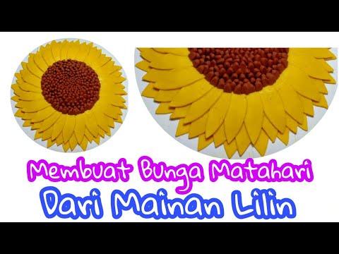 Membuat Bunga Matahari Dari Mainan Lilin Play Doh Youtube