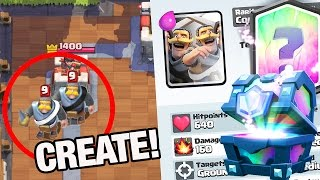 Download lagu Make Your Own LEGENDARY Card in Clash Royale!