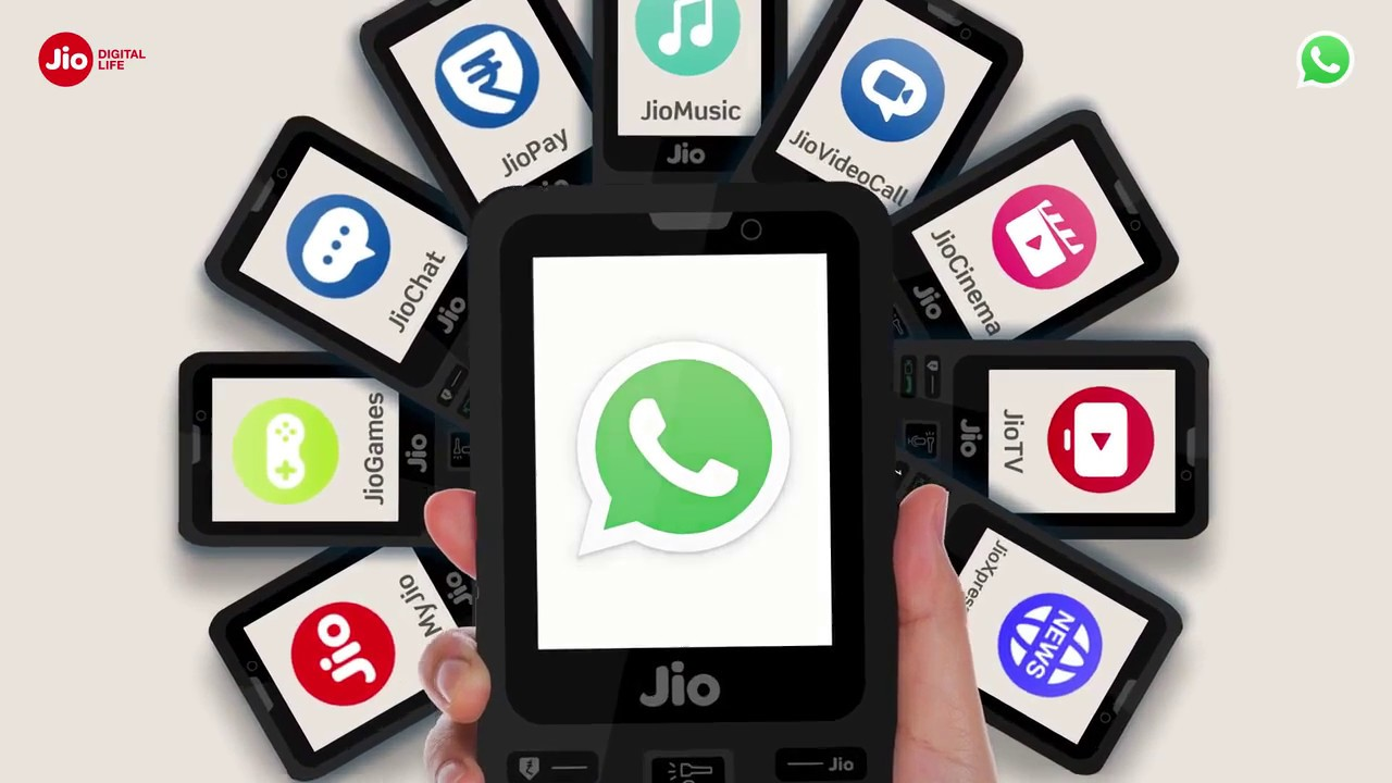How to Download WhatsApp in Jio Phone (Hindi) | Reliance Jio