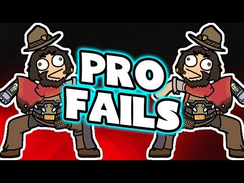 Overwatch Pro Players: FAILS MONTAGE
