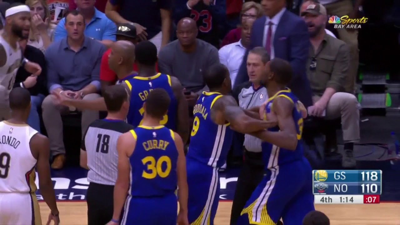 6269435a34db Kevin Durant and Demarcus Cousins ejected