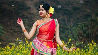 O Hey Shyam (ও হে শ্যাম ডান্স) Dance cover 😍❣️| Folk dance | Moumita Biswas |