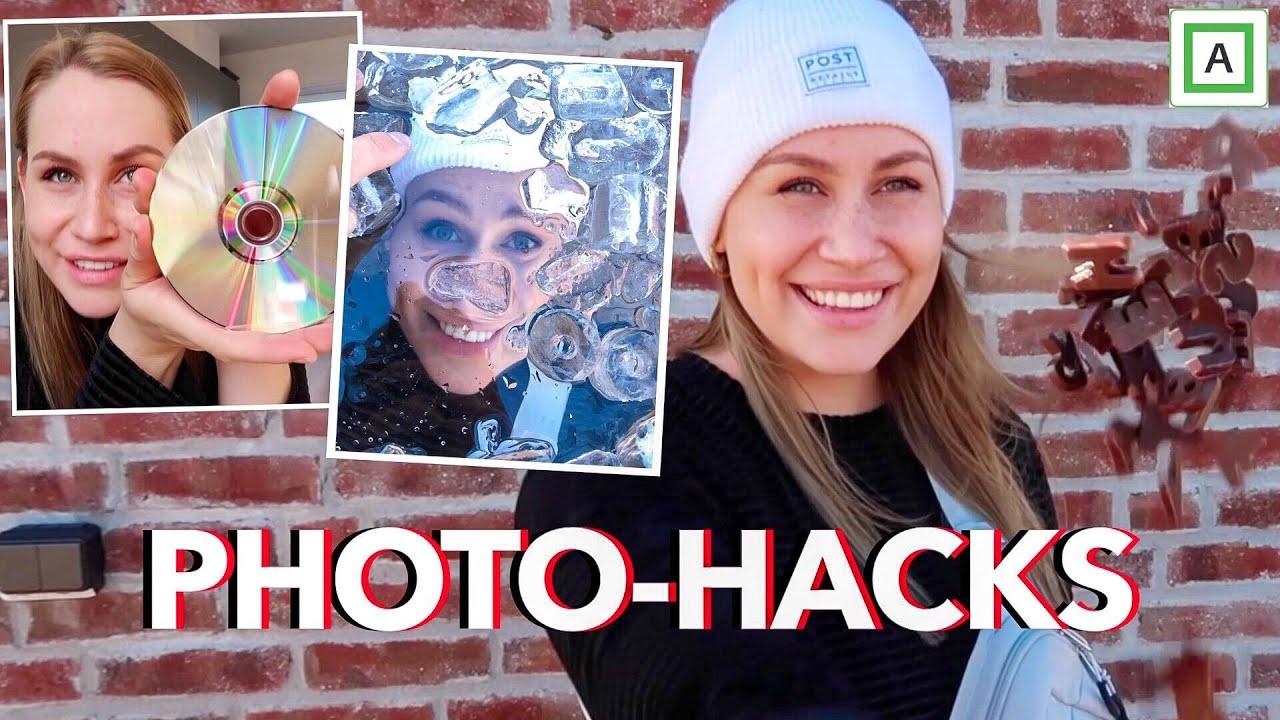 PHOTO-HACKS // med ting du har hjemme
