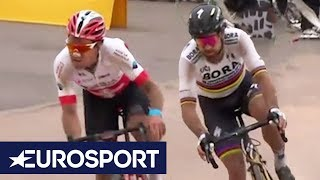 Paris-Roubaix 2018 | Finish Line Highlights | Cycling | Eurosport