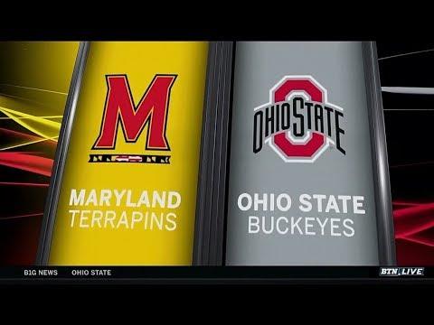 Big Ten Basketball Highlights - Maryland at Ohio State