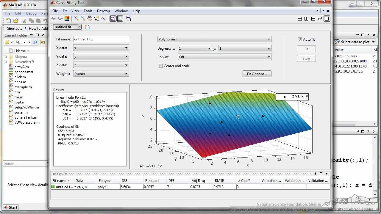 Model Fitting and Regression in MATLAB - YouTube