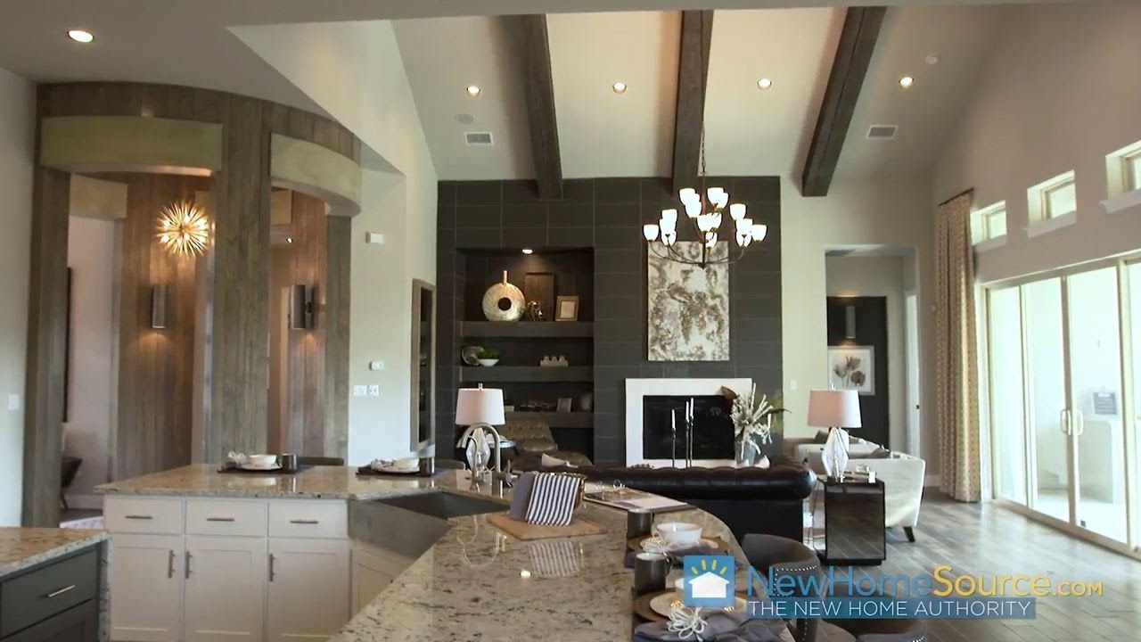 Secrets From Model Home Designers Great Room Youtube