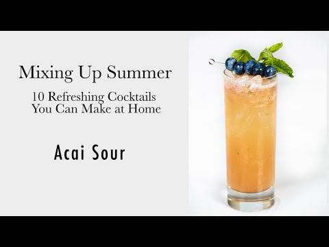 Acai Sour - Easy Drink Recipes For Any Occasion