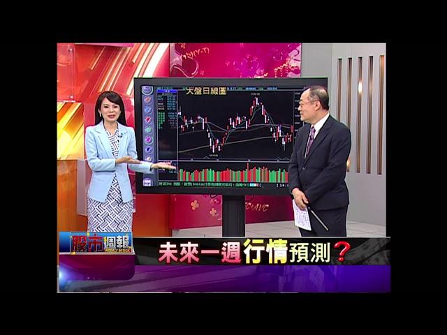 股市周報*曾鐘玉20180708-1(戴興明×蔡彰鍠×高子旭)