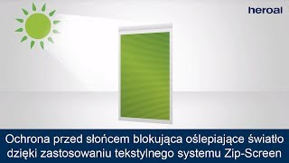 heroal VS Z - System Zip Screen (PL)