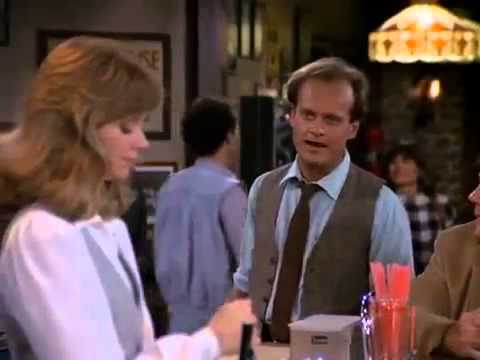 Cheers: Frasier has given up Psychiatry to make Diane guilty