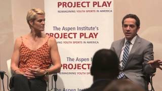 """The Sports Gene,"" A Conversation with Author David Epstein and Olympic Medalist Dara Torres"