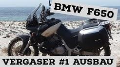 BMW F650 (169) Vergaser 1/3 Ausbau