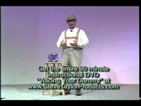 Learn Ventriloquism Lesson One with Steve Taylor - YouTube