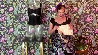 Vidéo: Waist Cincher Glamour L3018 Peach