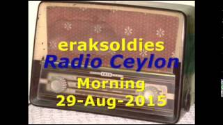 Radio Ceylon 29-08-2015~Saturday Morning~01 Film Sangeet