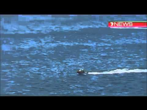Man Rescued From Shark Infested Waters