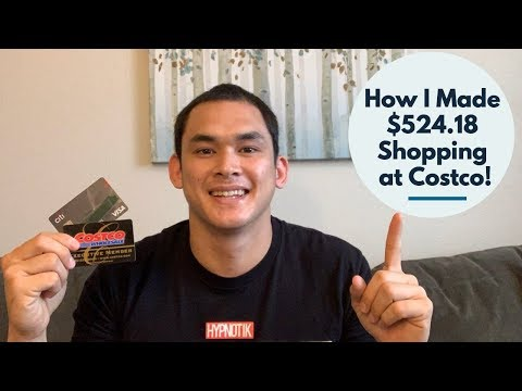 Costco Credit Card And How I Made $524.18