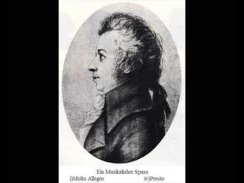 W.A.Mozart Superb : Ein Musikalischer Spass- A Musical Joke