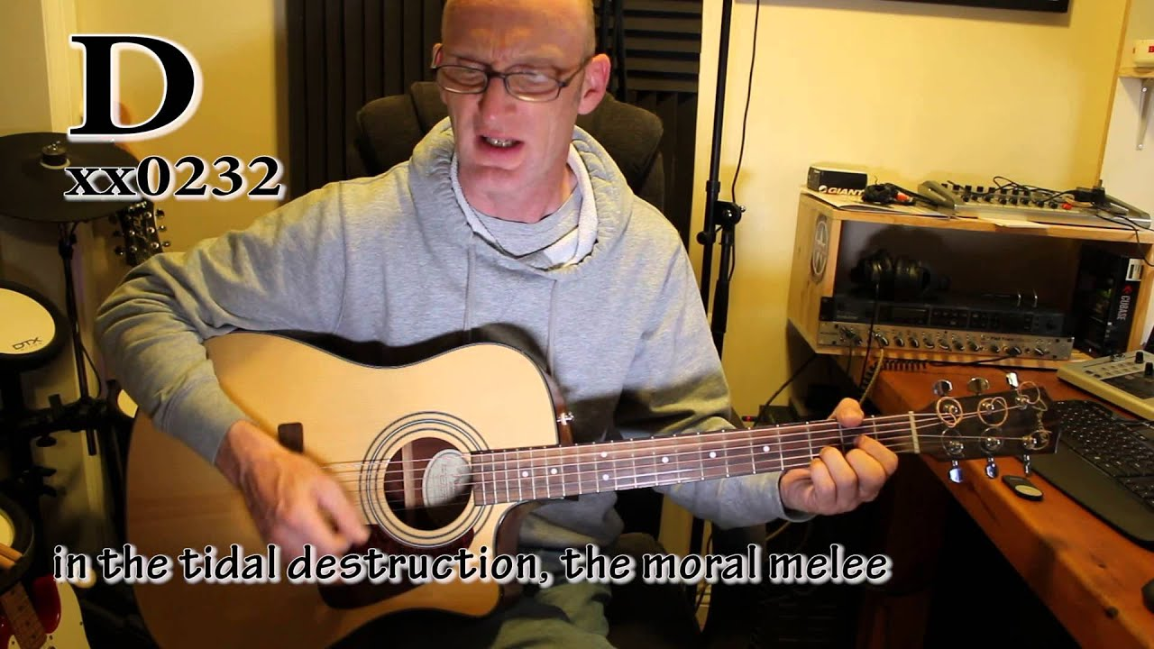 Thick As A Brick Jethro Tull Great Acoustic Guitar Tutorial With