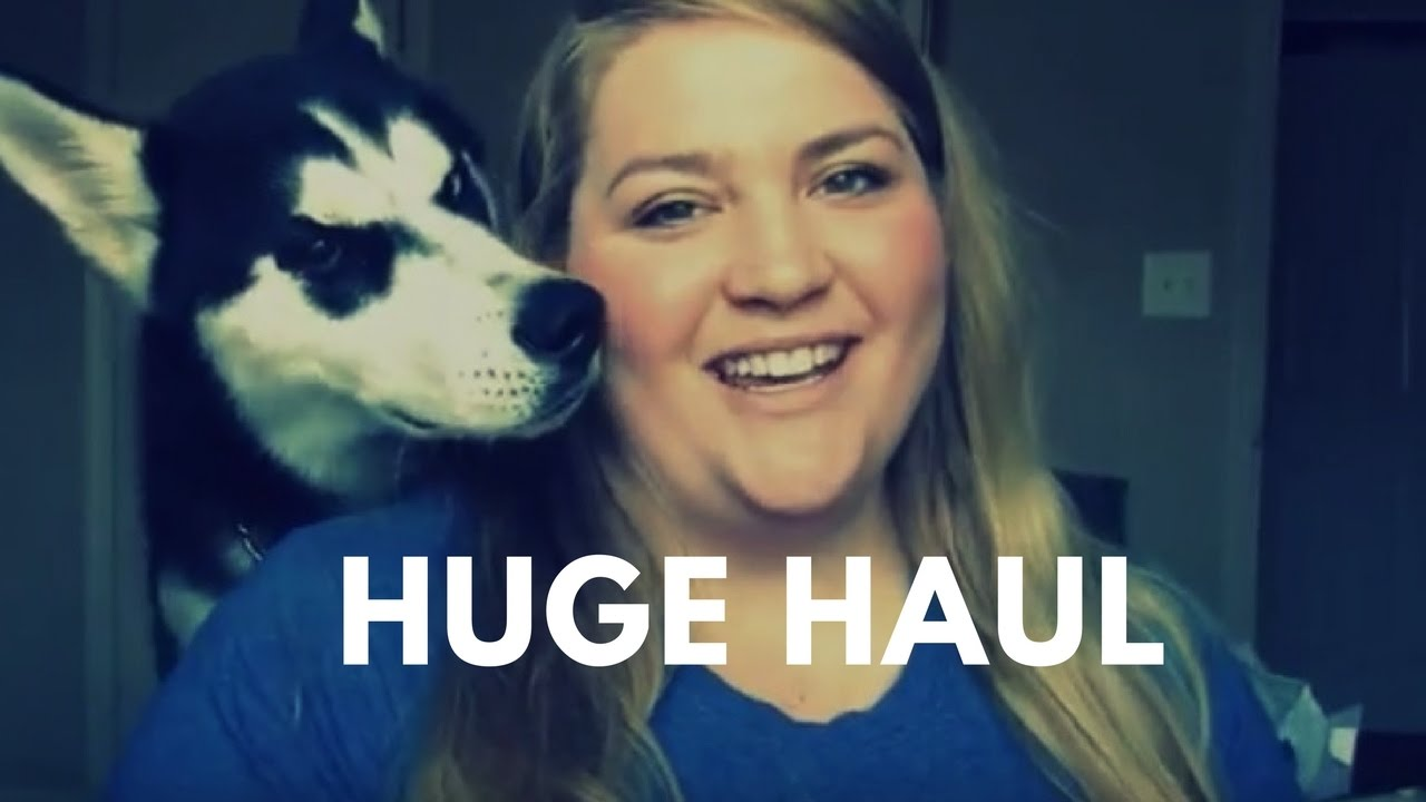 Huge Grocery Home Decor Bbw Try On Haul