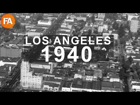 1940s Los Angeles From the Air - Vintage