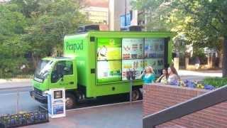 Peapod Interactive Digital Vehicle - EMC Outdoor
