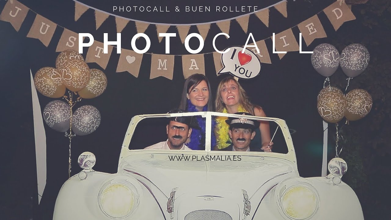 PHOTOCALL BODA ¡BRILLANTE! - YouTube