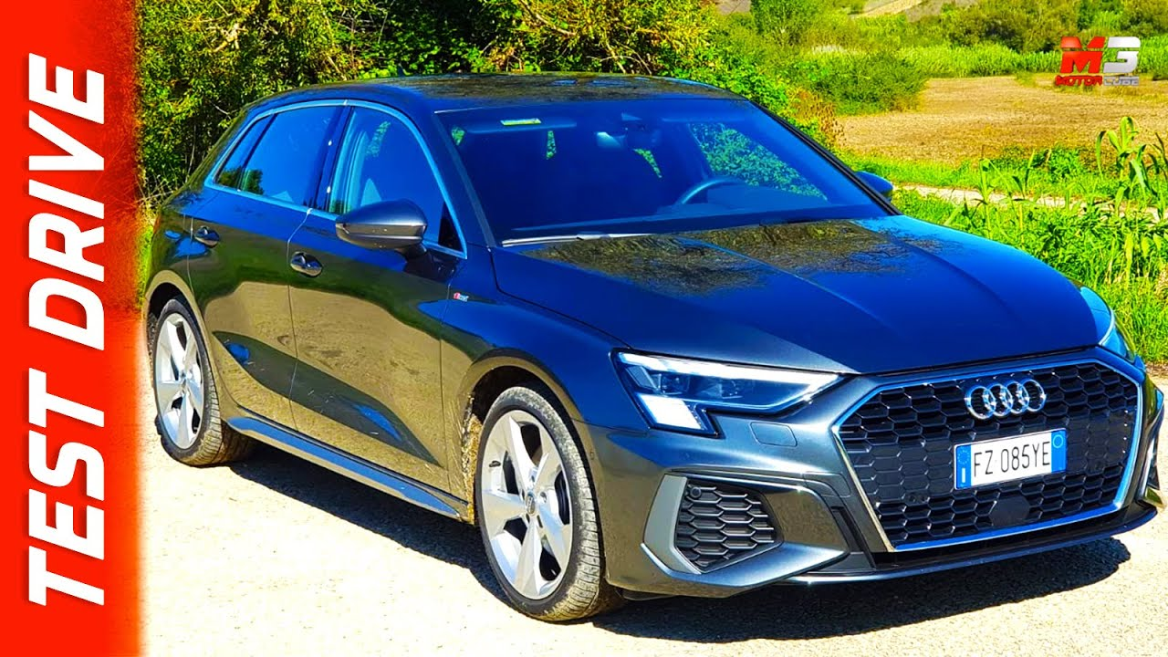 NEW AUDI A3 SPORTBACK 2021 - FIRST TEST DRIVE - YouTube