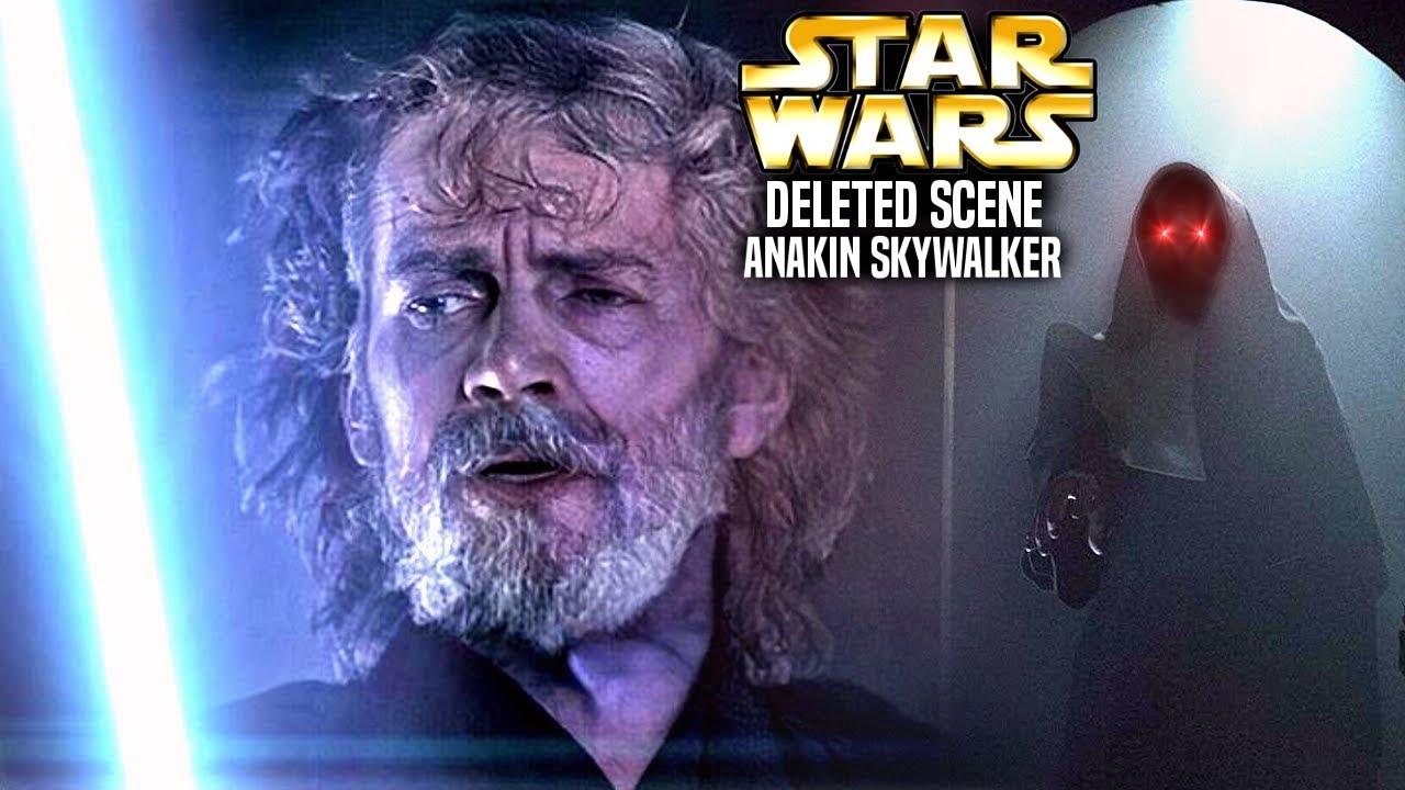 The Rise Of Skywalker Deleted Anakin Scene Is Insane Star Wars Explained Youtube