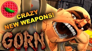 UKO'S NEW FISTS OF JUSTICE! -- Let's Play Gorn (HTC Vive VR Gameplay)(Steam Early Access)