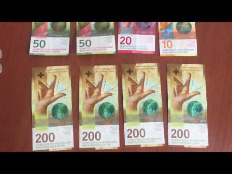 Швейцарские франки. New 200 CHF note 2018 | swiss franc