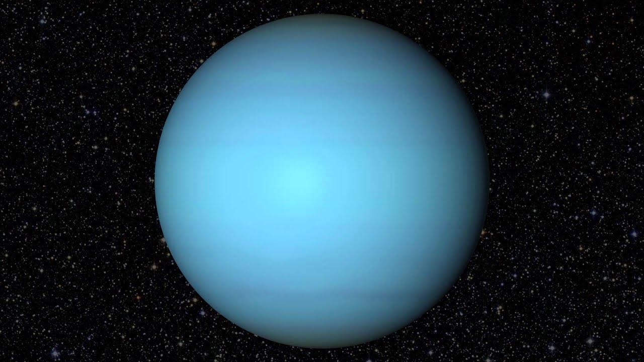 Uranus Full Rotation