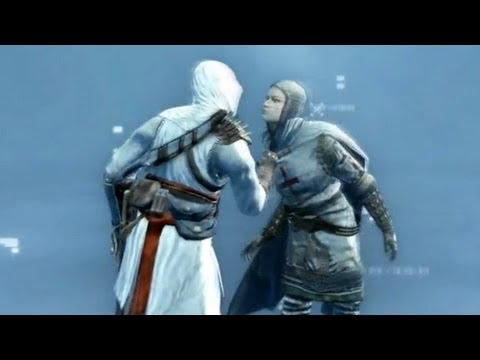 Altair Meets Maria Thorpe, His Future Lover: Killing Robert de Sable - Funeral  (Assassin's Creed 1)