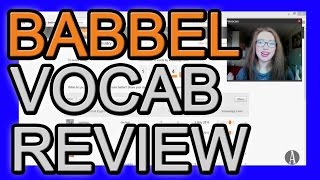 Babbel Vocabulary Review Manager Demo (Part 3 of 3)