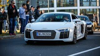 2016 Audi R8 V10 & V10 Plus w/ Capristo Exhaust - Revs & Accelerations !