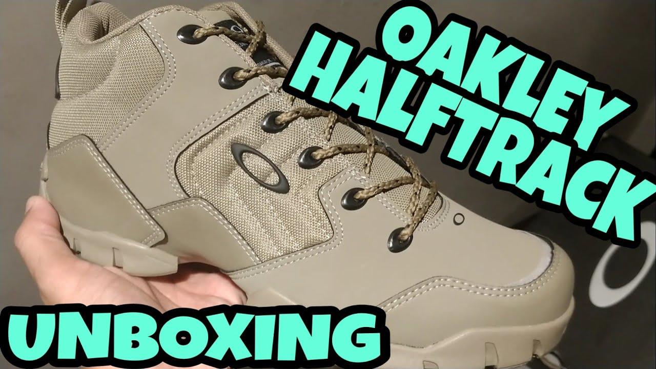 TÊNIS OAKLEY HALFTRACK -UNBOXING - YouTube 4d2dceb5b9