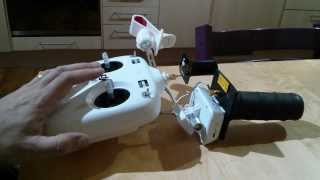 DJI Phantom 2 Vision: How to install Horizon FPV antennas to increase video & transmitter range