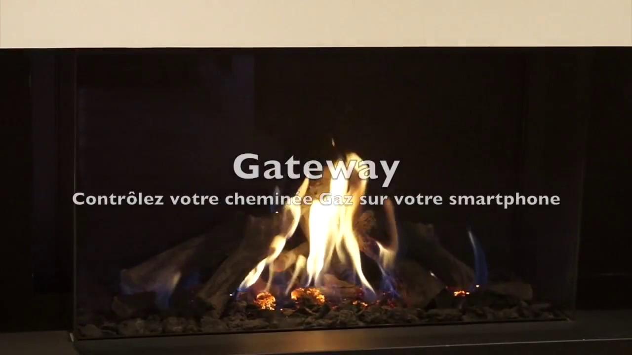 Coté feu   gamme de foyers gaz m design   youtube