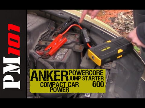Anker Powercore Jump Starter 600: Compact Car Power - Preparedmind101