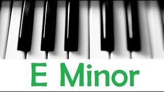 e minor scale & chords