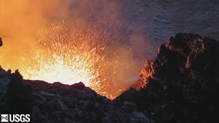 Volcano Lava Lake Nears Overflow (Sept. 11, 2016)