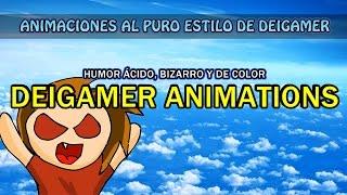 """DEIGAMER ANIMACIONES: """"HUMOR ACIDO, BIZARRO Y DE COLOR"""""""