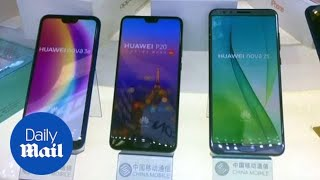Google blocks China's Huawei from using apps as trade war escalates