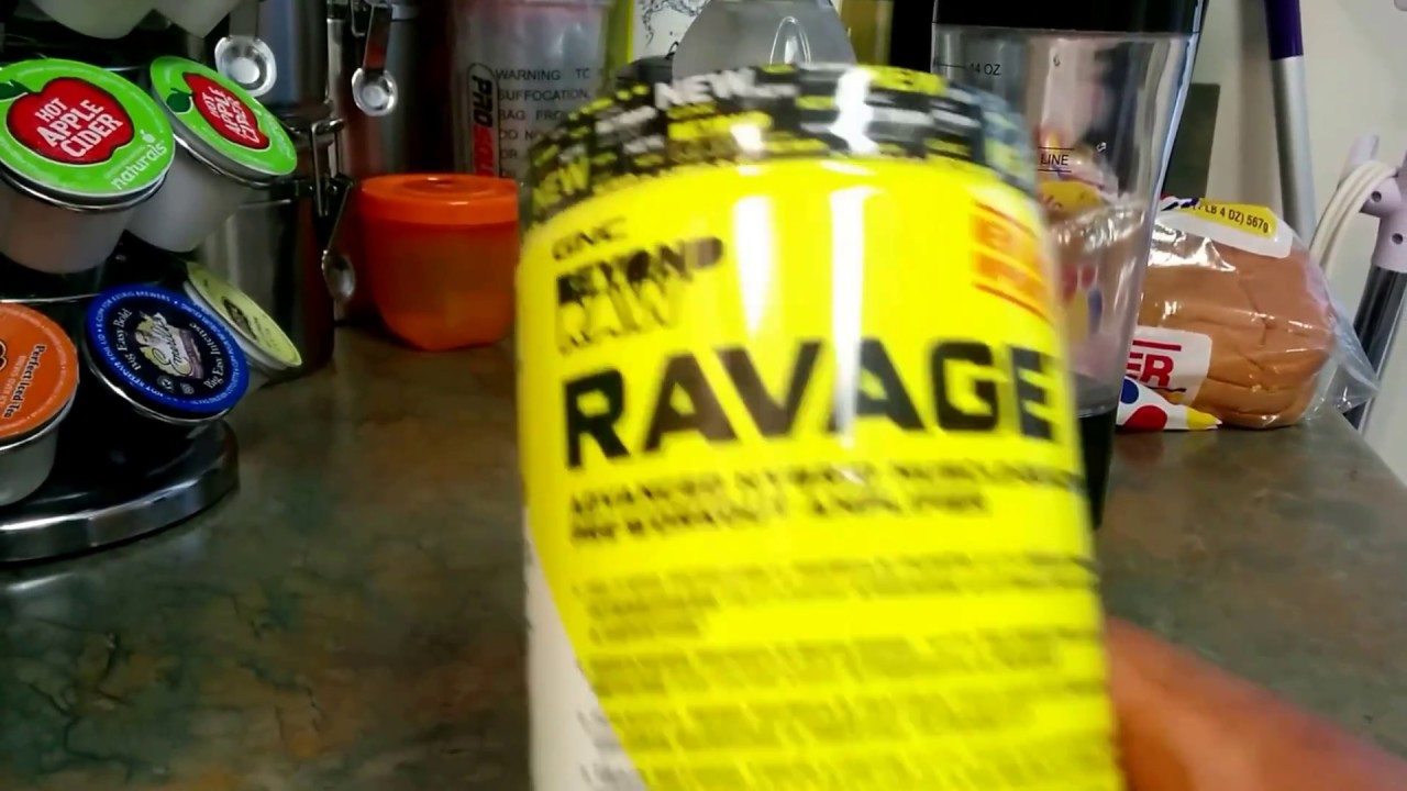 Gnc Beyond Raw Ravage Pre Workout Supplement Youtube