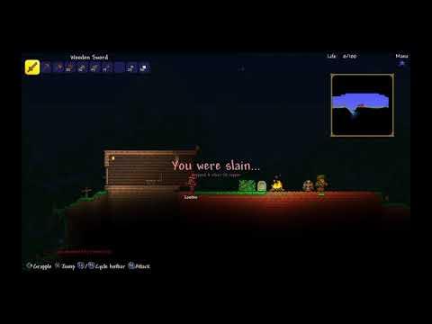 Start from scratch l terraria Moonlord hunt #1