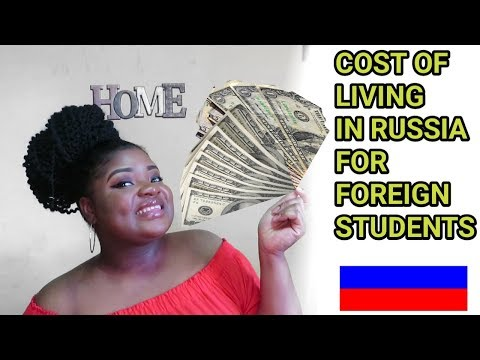 HOW MUCH WE SPEND AS FOERIGN STUDENTS LIVING IN RUSSIA
