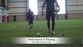 "Maurice Mann _ Performance 5 Elite Training ""wide receiver workouts"""