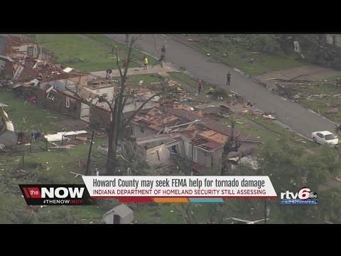 Howard County may seek help from FEMA for tornado damage