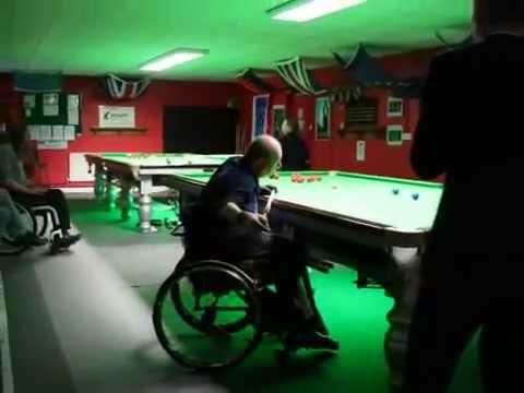Wheelchair snooker